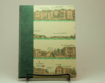 Sketchbook & Artist Journal with a Map of Florence