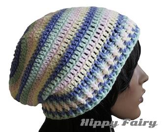 Kawaii clothing,Pastel beanie, pastel hat, pastel goth
