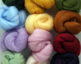 Felting Wool Artist's Palette 4