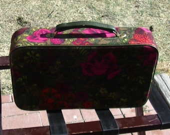 Vintage 1960s Slumber Party, Overnight Bag/Suitcase