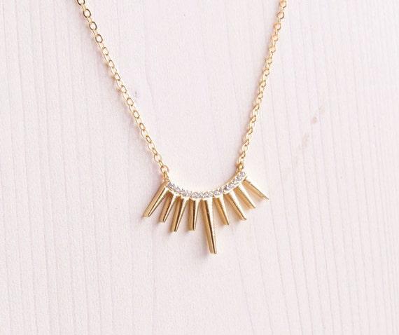 Half Sun Necklace