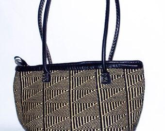 African Wool Sisal Kiondo/Tote Handbag