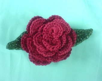 Rose PDF crochet Pattern PDF instant download