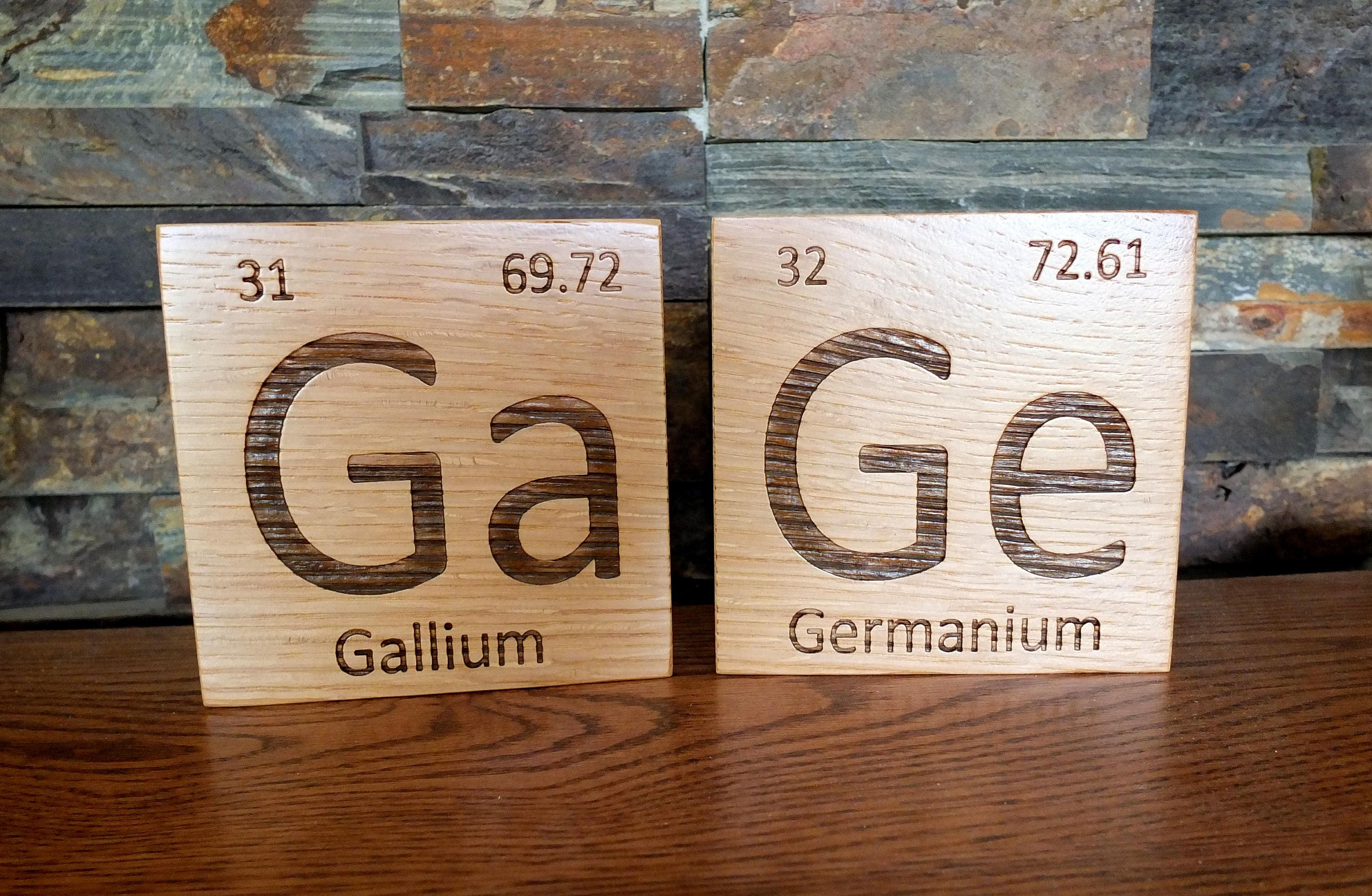Wooden periodic table element tiles in white oak wood periodic wooden periodic table element tiles in white oak wood periodic table wooden tiles chemistry science graduation gift teacher gift professor urtaz Image collections