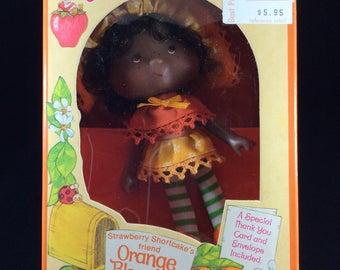 Vintage Strawberry  Shortcake Orange Blossom Doll ~ 1980 Kenner Doll