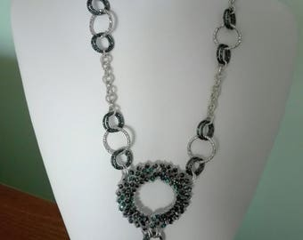 "Handmade necklace""Midnight necklace"""