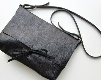 Satchel Bag messenger schwarz A4