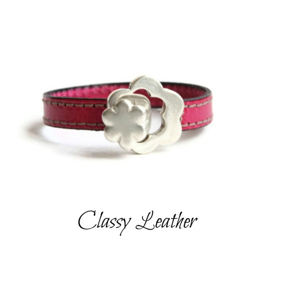 Women Bracelet, flower bracelet, women leather bracelet, leather bracelet, bracelet for women, women gift, girlfriend gift