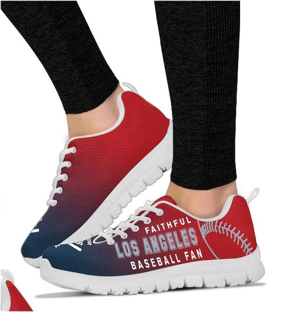 Angeles 044A Baseball Los Fan Walking HB PP Sneaker Shoes Angels wPdAdq6