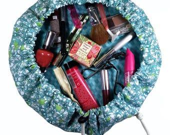 Makeup Bag Pattern, Makeup Bag, Bag Pattern, Sewing Pattern, PDF Pattern, DIY, Easy Sewing Pattern, cosmetic bag, sewing tutorial, pouch