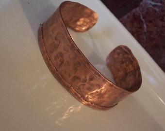 hammered copper cuff bracelet, copper cuff bracelet, copper wrap bracelet, unisex copper cuff bracelet, unisex bracelet, copper bracelet