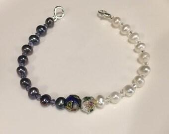 Fresh Water Pearl Bracelet June Birthstone