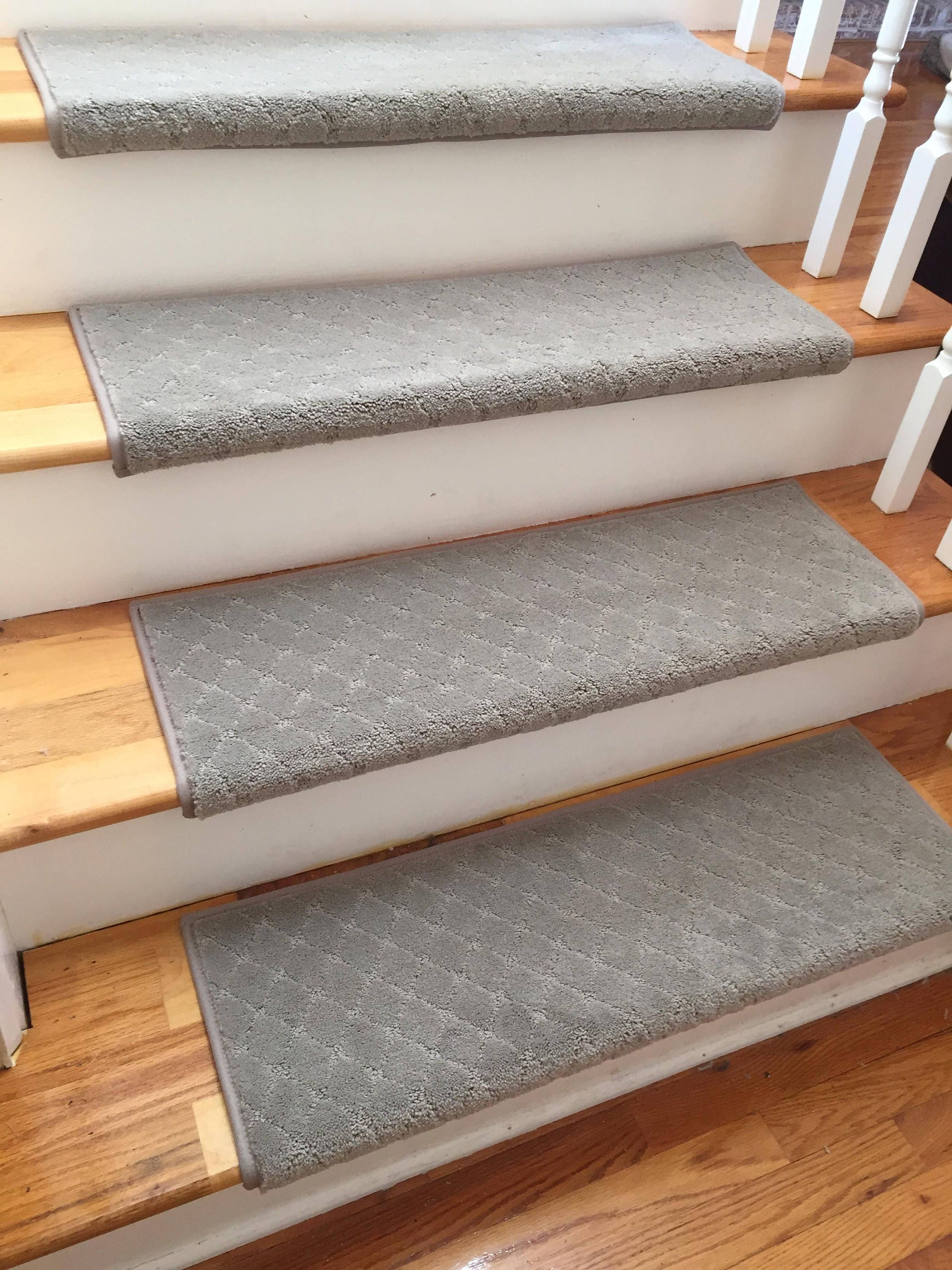 Clever Expression Alert True Bullnose™ Carpet Stair Tread   For Safety  Comfort Dog Cat Pet (Sold Each)