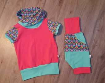 READY to ship, evolutionary shirt 3-6 t, baby girl, unisex garment, grow with me