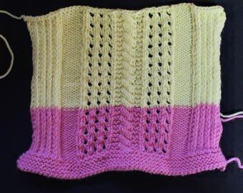 Three Irish Cable Panels Knitting Patterns PDF