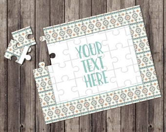 Create Your Own Puzzle - Pregnancy Announcement - Custom Puzzle - Personalized Puzzle - Announcement Ideas - Wedding Announcement - CYOP0243
