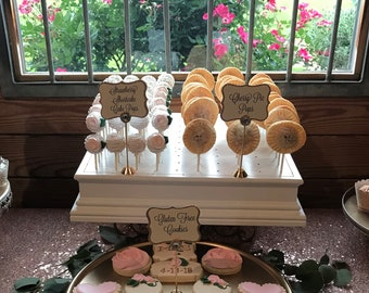 Cake Pop Stand For 100 Cake Pops.  Pretty Decorative Sides!