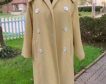 RARE Vintage 1950s peter pan collar coat