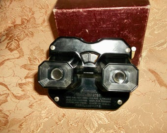 Sawyer View-Master Viewer Bakelite Black