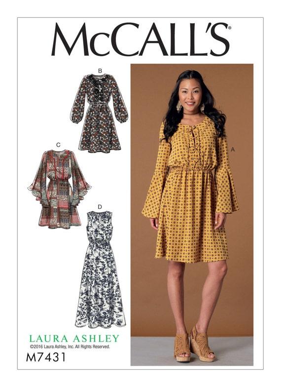 Sewing Pattern Womens Dress McCall\'s Pattern 7431