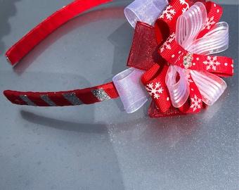 Christmas holidays flower headband