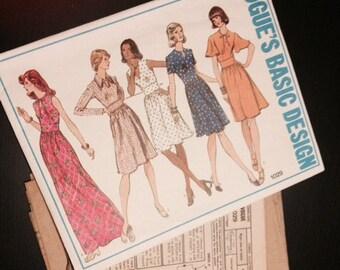 Vogue Basic Design Pattern - 1029 - 1970s