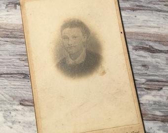 Vintage Photograph . Victorian Woman . Antique Photography . Portrait Photo .  Carte de Visite . Cabinet Card . Vintage Ephemera .