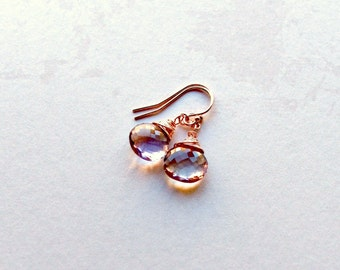Ametrine Earrings, AAA Gemstone Earrings, Gemstone Earrings, Gifts for Her, Gifts under 25,