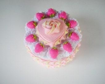 Sweet Valentine Cake set 2 Felt Sewing Pattern PDF