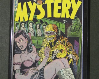 Fridge Magnet  Mr Mystery 1 vintage Horror Comic cover print captive repro gift
