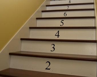 Numbers   1 12   Vinyl Wall Art