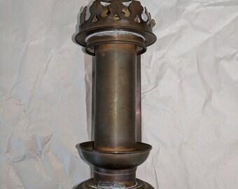 Sconse, Brass, Candle