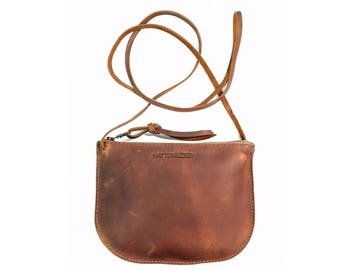 LUNA CROSSBODY Henna Brown • Supple Leather Bag