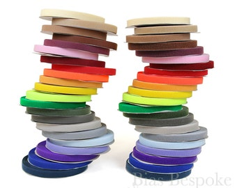 "27 Yard Roll of 1"" Wide Sew-on Hook and Loop Fastening Tape in 22 Colors"