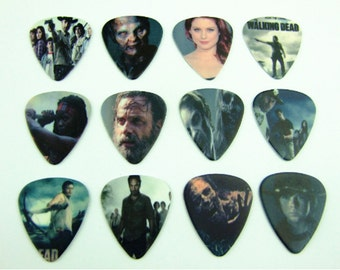 One New The Walking Dead Guitar Pick