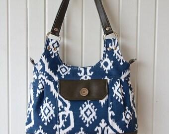 Shoulder bag, Large shoulder bag, large purse, cross body bag, women's bag, pleated purse, pleated shoulder bag