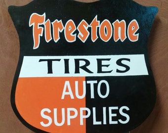 Firestone Sign - FREE SHIPPING
