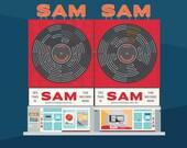 Toronto City Landmarks Series #2 - Sam The Record Man