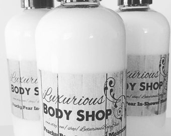 Luscious In-Shower Moisturizer, Shea Butter, Coconut Oil, Apricot Kernal Oil, Cocoa Butter