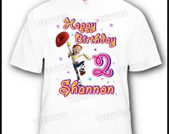 Personalized Disney Toy Story Jessie Birthday T-Shirt