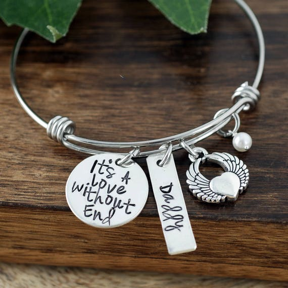 Personalized Charm Bracelet, Memorial Bracelet, Remembrance Bracelet, Loss of Child, Bereavement Bracelet, Funeral Gift, Loss of Loved one