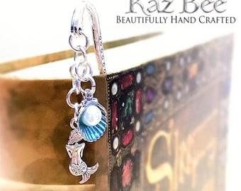 Blue Mermaid Bookmark
