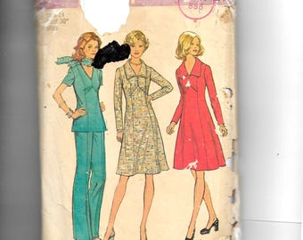 Simplicity Misses'  Dress or Top and Pants  Pattern  6557