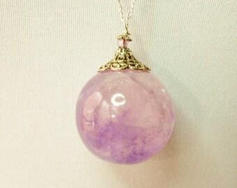 Amethyst, Amethyst necklace, Amethyst Sphere, Amethyst Ball