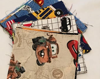 """Kit for """"I Spy"""" quilt, 25 5.5"""" squares, Kids Quilt, Children's quilt, game and quilt, I Spy all things for traveling"""