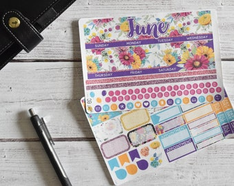 Erin Condren Monthly Planner Stickers Kit | You pick the month!  184L1-2