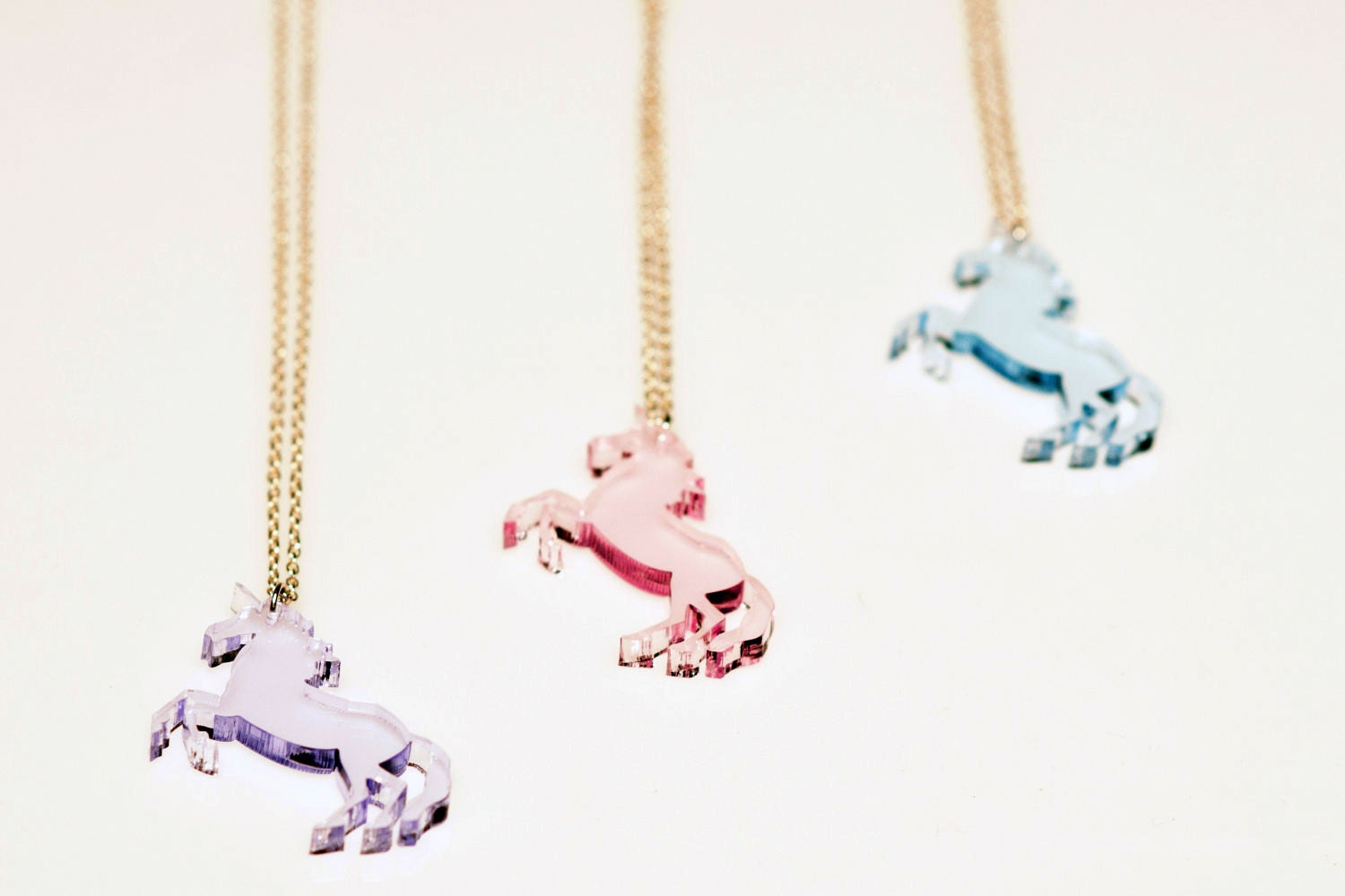 image necklace clavicle is choker gift chains loading itm gold s unicorn women pendant jewelry