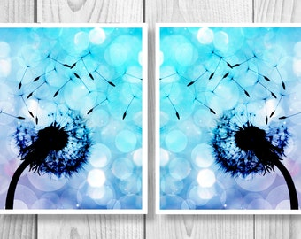 Dandelion Art, Dandelion Wall Art, Dandelion Printable, Dandelion Flower, Dandelion Digital Download, Dandelion Décor, Dandelion Print 0291