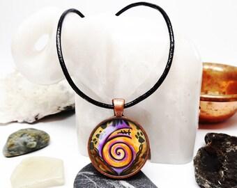 Copper Dai ko Myo necklace Reiki necklace reiki attunement Reiki master necklace reiki soul healing journey copper necklace reiki jewelry