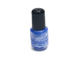 Skylight Blue Nail Polish - Vegan Nail Polish - Cruelty Free Indie Nail Polish - Paraben Free - Blue Nail Polish /Nail Varnish 5 ML Sample